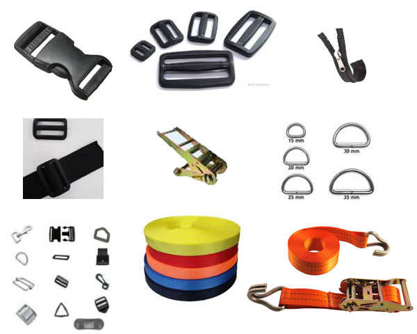 Quick Release Buckles and Accessories