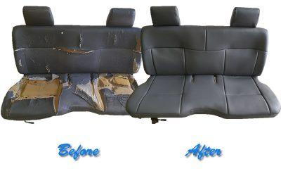 Bakkie Seat Trimming