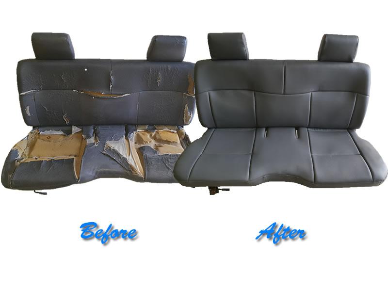 Bakkie Seat Restored